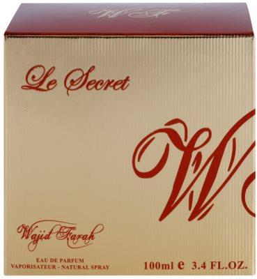 Wajid Farah Le Secret Eau de Parfum für Damen 2
