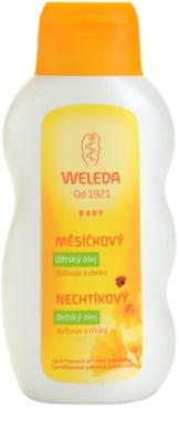 Weleda Baby and Child дитяча олійка з екстрактом нагідки