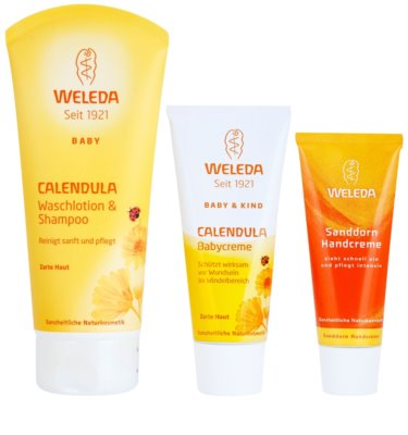 Weleda Baby and Child Kosmetik-Set  IV. 1