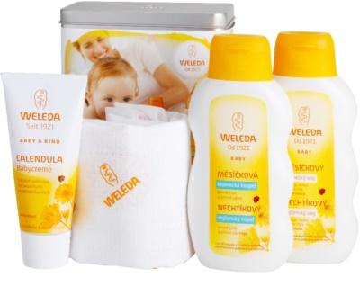 Weleda Baby and Child zestaw kosmetyków III.