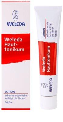Weleda Body Care kožní tonikum pro unavené nohy 1