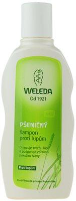 Weleda Hair Care шампоан с пшеница против пърхот