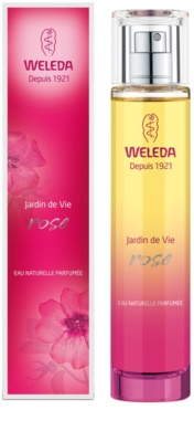 Weleda Jardin de Vie Rose Eau de Parfum para mulheres