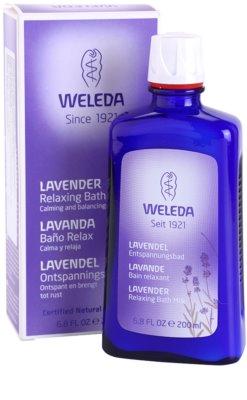 Weleda Lavender заспокійлива ванна 2