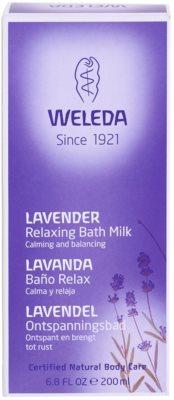 Weleda Lavender заспокійлива ванна 3