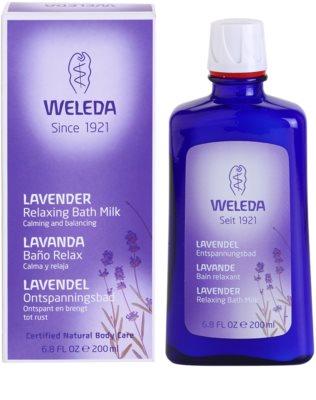 Weleda Lavender заспокійлива ванна 1