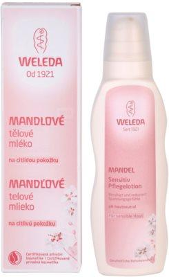 Weleda Almond молочко для тіла  для чутливої шкіри 1