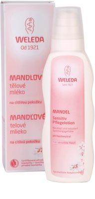 Weleda Almond молочко для тіла  для чутливої шкіри 2