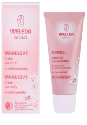 Weleda Almond крем для чутливої шкіри рук 1