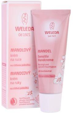 Weleda Almond крем для чутливої шкіри рук 2