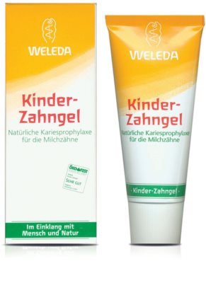 Weleda Dental Care Tooth Gel for Babies 1