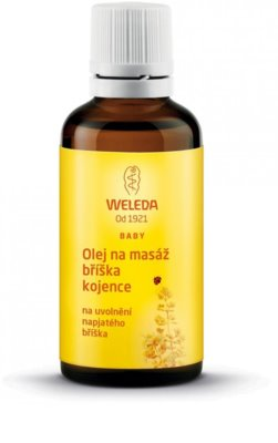 Weleda Pregnancy and Lactation óleo de massagem para a barriga dos bebés
