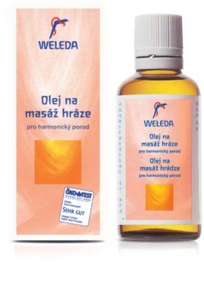 Weleda Pregnancy and Lactation aceite para masajes del periné 1