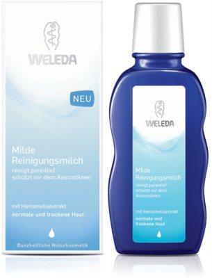 Weleda Cleaning Care leite de limpeza para pele normal a seca 1