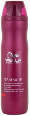 Wella Professionals Age Restore sampon erős, vastag és száraz hajra
