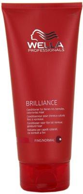 Wella Professionals Brilliance condicionador para cabelo fino e colorido