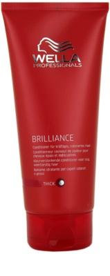 Wella Professionals Brilliance kondicionér pro hrubé, barvené vlasy