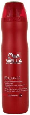 Wella Professionals Brilliance šampon za tanke, barvane lase