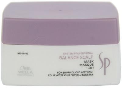 Wella Professionals SP Balance Scalp maszk érzékeny fejbőrre