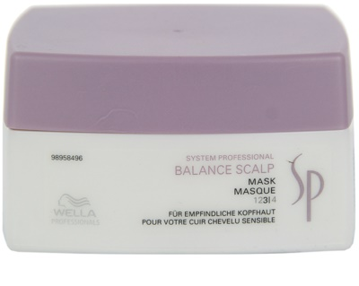 Wella Professionals SP Balance Scalp маска  за чувствителна кожа на скалпа