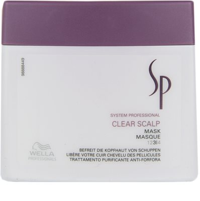 Wella Professionals SP Clear Scalp mascarilla anticaspa
