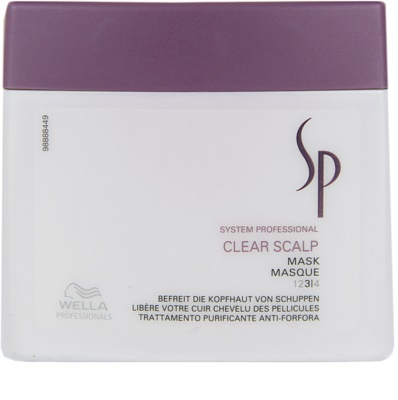 Wella Professionals SP Clear Scalp maska proti prhljaju