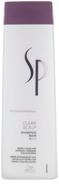 Wella Professionals SP Clear Scalp šampon proti lupům