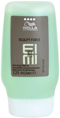 Wella Professionals Eimi Sculpt Force gel moldeador fijación extra fuerte