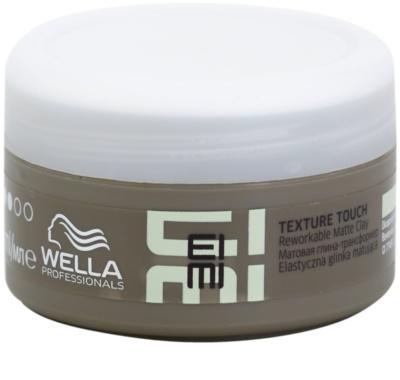 Wella Professionals Eimi Texture Touch hajformázó agyag matt hatással