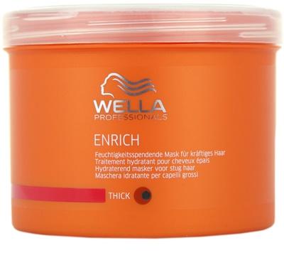 Wella Professionals Enrich зволожуюча та поживна маска для густого, товстого та сухого волосся
