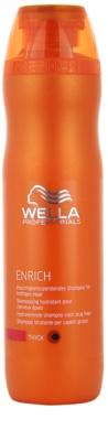 Wella Professionals Enrich hydratisierendes Shampoo für starkes, raues und trockenes Haar