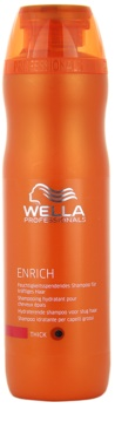 Wella Professionals Enrich sampon hidratant cu fir gros, aspru și uscat