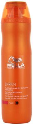 Wella Professionals Enrich зволожуючий шампунь для густого, товстого та сухого волосся