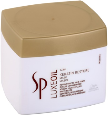Wella Professionals SP Luxeoil mascarilla nutritiva para cabello maltratado o dañado 2