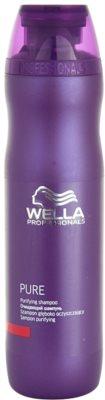 Wella Professionals Pure sampon pentru curatare pentru toate tipurile de par
