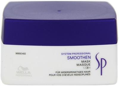 Wella Professionals SP Smoothen maseczka  do włosów nieposłusznych i puszących się