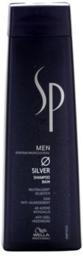 Wella Professionals SP Men шампунь для сивого волосся