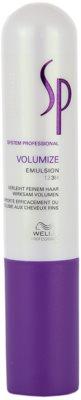 Wella Professionals SP Volumize emulzija za fine in tanke lase