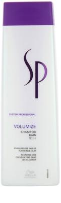 Wella Professionals SP Volumize champô para cabelo fino e sem volume