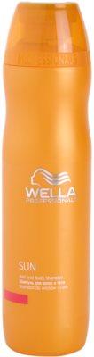 Wella Professionals SUN vlasový a tělový šampon po opalování
