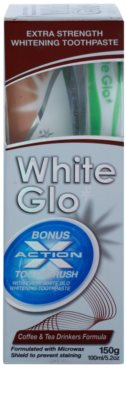 White Glo Coffee & Tea Drinkers Formula lote cosmético II. 1