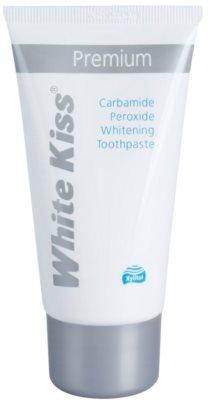 White Kiss Premium fehérítő fogkrém a fogzománc megerősítésére