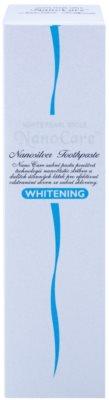 White Pearl NanoCare Whitening Zahnpasta mit Silber-Nanopartikeln gegen Flecken auf Zähnen 2