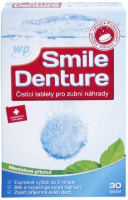 White Pearl Smile Denture čisticí tablety pro zubní náhrady