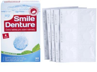 White Pearl Smile Denture čisticí tablety pro zubní náhrady 1