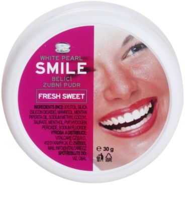 White Pearl Smile pó de clareamento dental