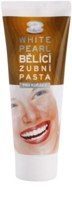 White Pearl Whitening pasta de dinti cu efect de albire pentru fumatori