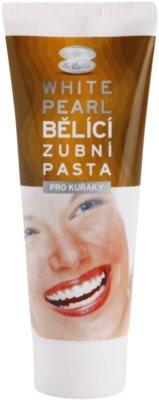 White Pearl Whitening wybielająca pasta do zębów dla palaczy