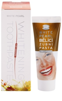 White Pearl Whitening избелваща паста за зъби за пушачи 1