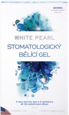White Pearl Whitening System stomatologický bělicí gel 4